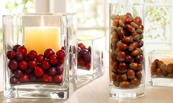 Decorare Candele Di Natale : Candele natalizie decorazioni natalizie con candele